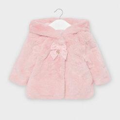 Παλτό γούνικο με φιόγκο