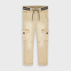 Παντελόνι με κορδόνι στην μέση και τσέπες