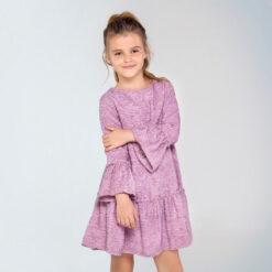 """Φόρεμα μακρυμάνικο με μεγάλα μανίκια """"Chic Mayoral Girl"""""""