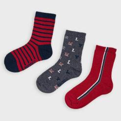 """Σετ τρεις κάλτσες """"MLY"""""""