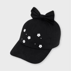 """Καπέλο με φιόγκο """"Λουκούδια"""""""