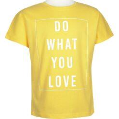 """Μπλούζα κοντομάνικη """"Do What You Love"""""""