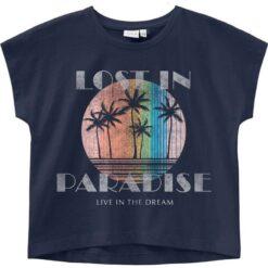 """Μπλούζα κοντομάνικη """"Lost in Paradise"""""""