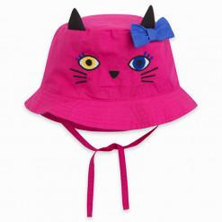 """Καπέλο υφασμάτινο """"Pink Cat"""""""