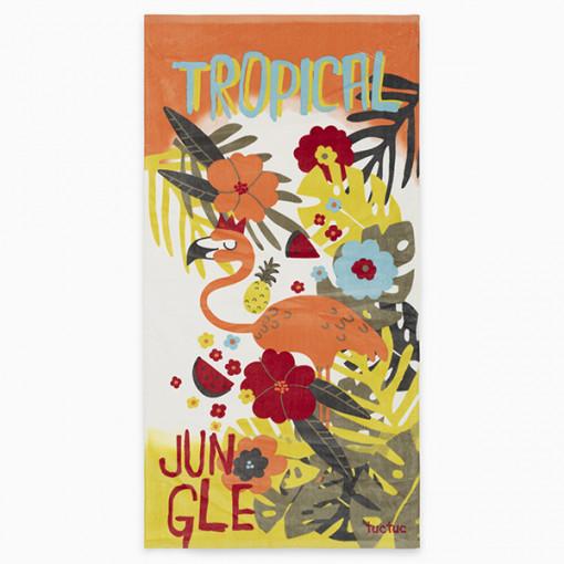 """Πετσέτα """"Jungle colors"""""""