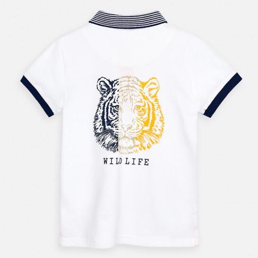 """Μπλούζα κοντομάνικη πόλο """"Tiger"""""""