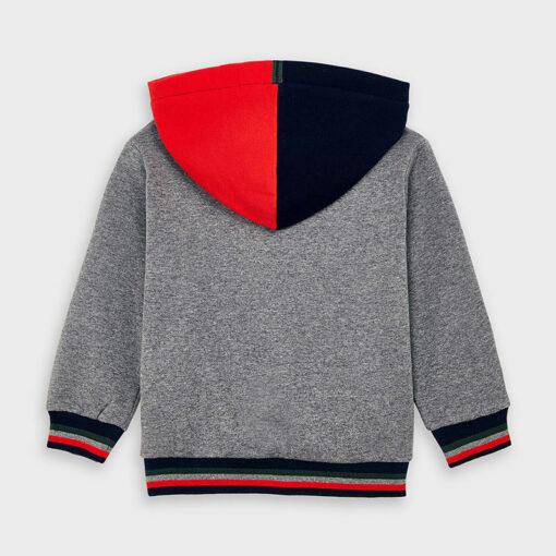 """Μπλούζα μακρυμάνικη φούτερ με κουκούλα """"1987"""""""