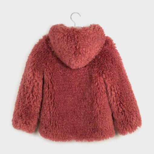 Παλτό γούνικο με κουκούλα