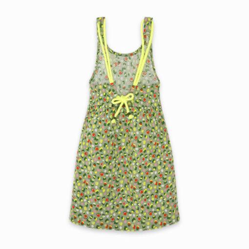 """Φόρεμα αμάνικο """"Green Giraffe"""""""