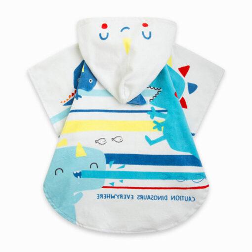 """Μπουρνουζοπετσέτα με θήκη μεταφοράς """"Baby Sea Creatures"""""""